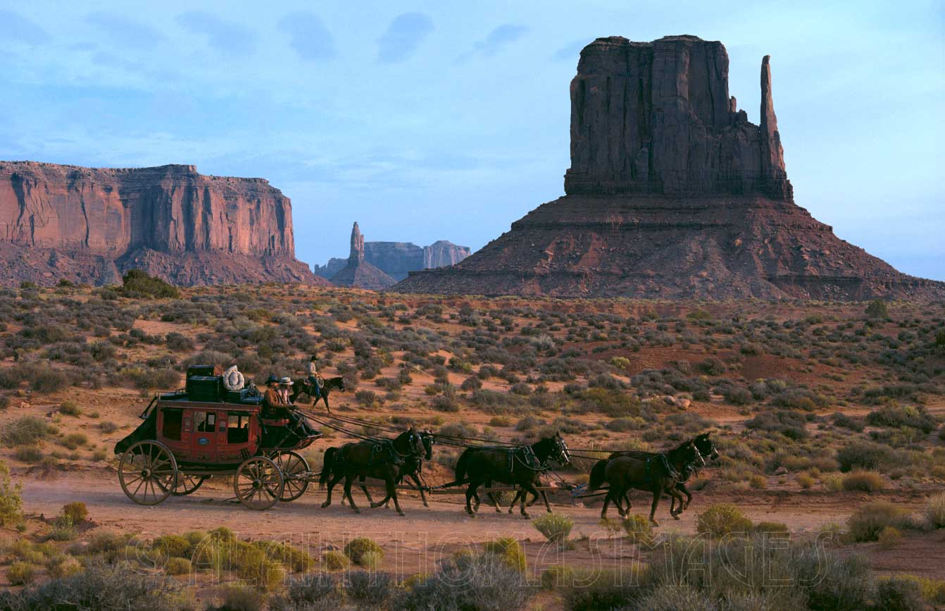 Stagecoach, Scenic Drive, Monument Valley Navajo Tribal Park, Arizona
