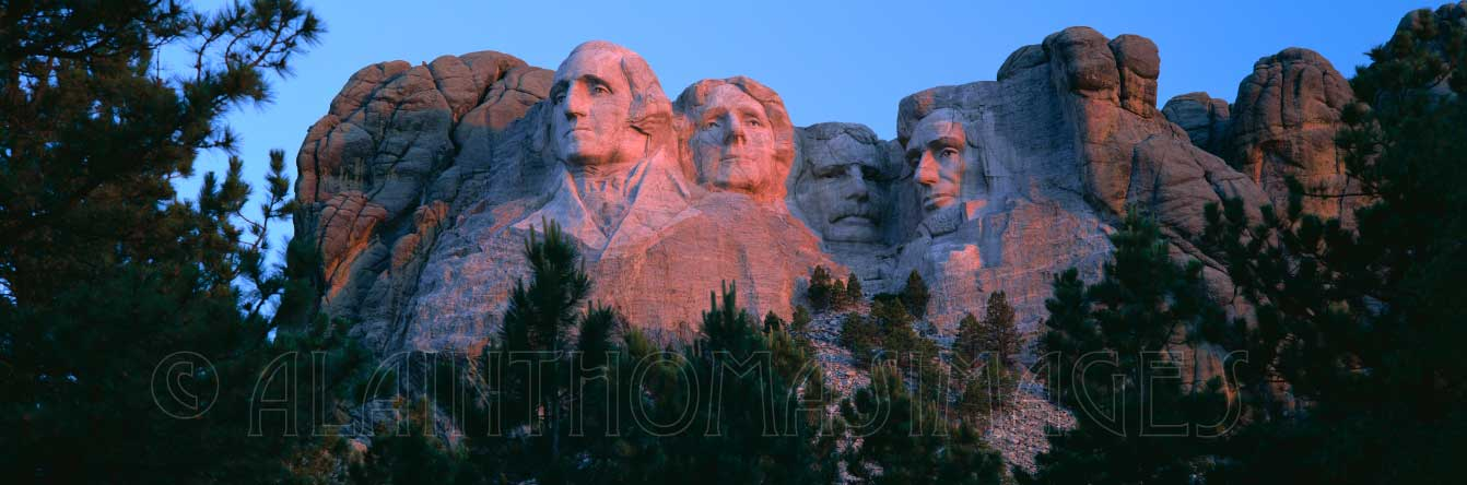 Mount Rushmore National Memorial, Black Hills, South Dakota