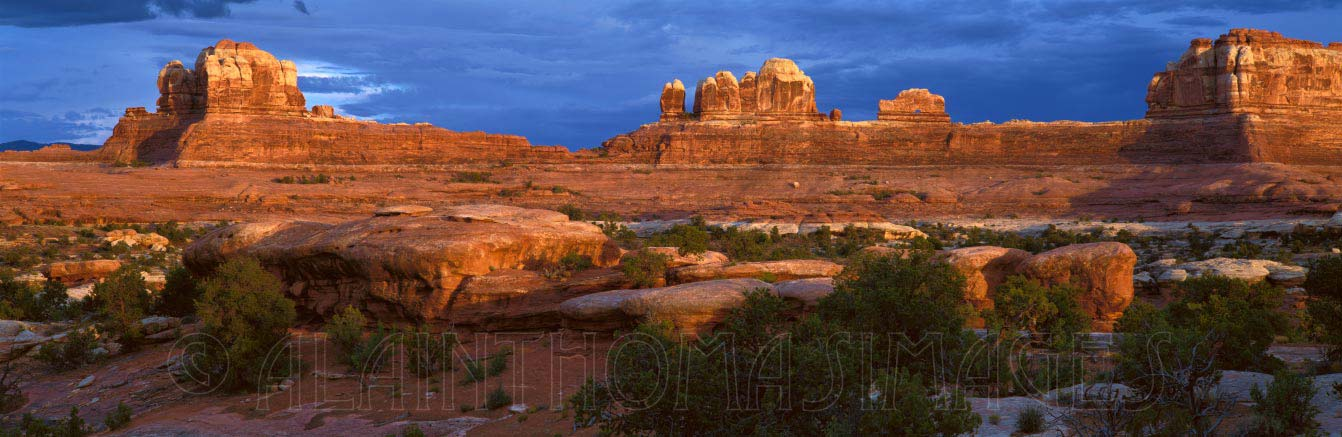 Wooden Shoe Arch, Needles District, Canyonlands National Park, Utah